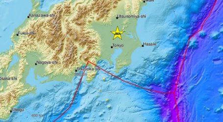 Σεισμός 4,6 βαθμών ανατολικά της Ιαπωνίας