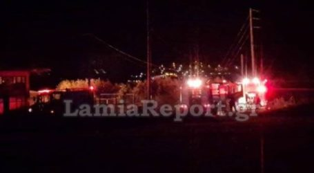 Συναγερμός για μεγάλη φωτιά με εκρήξεις στα ΚαλύβιαΛαμίας