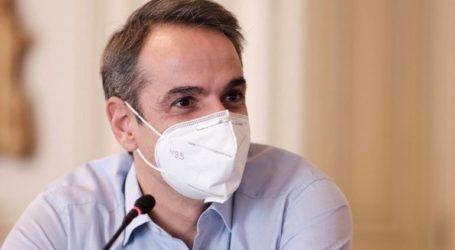 Στις 27 Δεκεμβρίου θα εμβολιαστεί ο Κυριάκος Μητσοτάκης