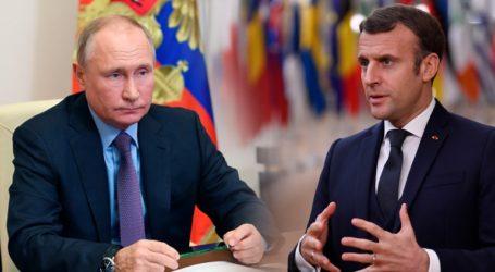 Τηλεφωνική επικοινωνία Πούτιν – Μακρόν