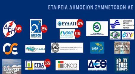 Καθαρά κέρδη ύψους 28,9 εκατ. ευρώ είχε η Ελληνική Εταιρεία Συμμετοχών και Περιουσίας το εννεάμηνο