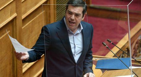 Συζήτηση στη Βουλή για φαινόμενα αυθαιρεσίας στην κυβερνητική πολιτική ζητά ο Τσίπρας