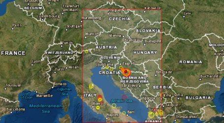 Ισχυρός σεισμός 6,4 βαθμών Ρίχτερ κοντά στο Ζάγκρεμπ