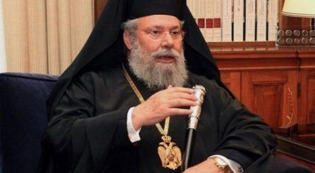 Το εμβόλιο κατά της νόσου COVID-19 έλαβε ο αρχιεπίσκοπος Χρυσόστομος