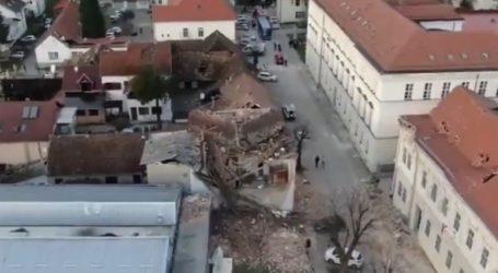 Οι καταστροφές από τον φονικό σεισμό στην Κροατία από ψηλά