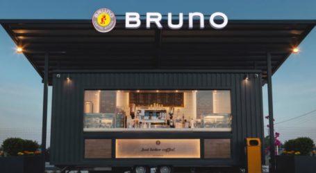 Χρυσό βραβείο καινοτομίας για την Bruno coffeeστα Estia Awards 2021
