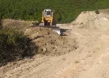 Ολοκληρώθηκαν οι εργασίες αποκατάστασης της αγροτικής οδοποιίας στην Κοινότητα Καρυάς