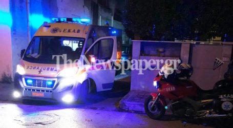 Βόλος: Κινητοποίηση του ΕΚΑΒ για 74χρονο που τραυματίστηκε στο κεφάλι