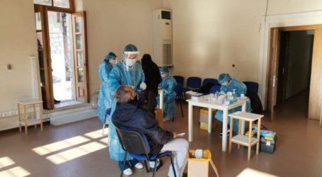 """Λάρισα: """"Καθαρά"""" και τα 112 rapid tests που έγιναν σήμερα σε υπαλλήλους του δήμου Λαρισαίων"""