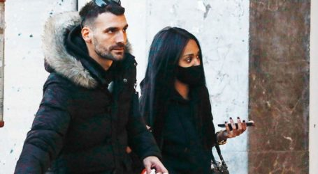 Βόλτα στο Κολωνάκι για τη Ρασέλ και τον Δημοσθένη μετά την αποχώρηση της από το GNTM