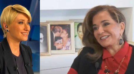 Ντόρα Μπακογιάννη: «Είμαι πάρα πολύ τυχερή γιατί έχω μια καταπληκτική νύφη! Την καμαρώνω πολύ»