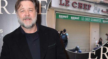 Ο Russell Crowe βοήθησε εστιατόριο της Βηρυτού να ανοίξει και πάλι μετά τη φονική έκρηξη!