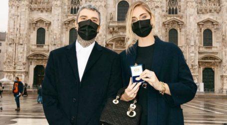 Η Ciara Ferragni και ο Fedez τιμήθηκαν για την προσφορά τους στη δημιουργία ΜΕΘ στο Μιλάνο