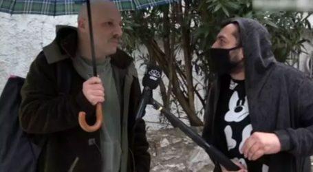 Η απάντηση του Νίκου Μουτσινά on camera για την ανάρτηση με τους αστυνομικούς
