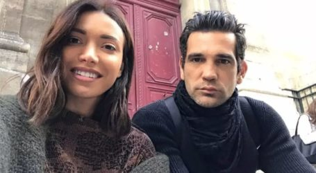 Όλγα Φαρμάκη: Ποζάρει με φουσκωμένη κοιλίτσα στην αγκαλιά του συντρόφου της