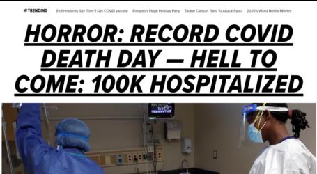 Το δραματικό πρωτοσέλιδο της Huffington Post για την πανδημία στις ΗΠΑ
