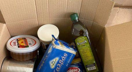 Διανομή τροφίμων στους δικαιούχους Κοινωνικού Παντοπωλείου του Δήμου Τυρνάβου την Πέμπτη