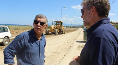 Νέα πεζοδρόμια και ποδηλατοδρόμος μήκους 13 χλμ. στα παράλιατου Δήμου Αγιάς