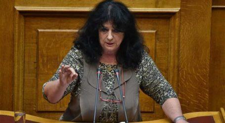 Βαγενά: «Απορρίφθηκε η τροπολογία του ΣΥΡΙΖΑ για τη μόνιμη δημοσίευση κρατικών διακηρύξεων στον περιφερειακό και τοπικό Τύπο»