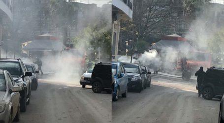 Αναστάτωση στο κέντρο των Φαρσάλων – Αυτοκίνητο τυλίχθηκε στις φλόγες (φωτό – βίντεο)