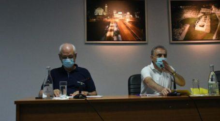 Συνεδρίαση του Δημοτικού Συμβουλίου Δήμου Λαρισαίων με την διαδικασία των ερωτήσεων