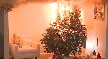 Αύξηση 122% το 2020 στους τραυματισμούς από χριστουγεννιάτικο δέντρο