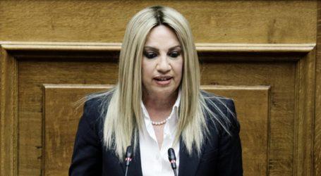 Η αναφορά της Γεννηματά στο ρεπορτάζ του TheNewspaper.gr