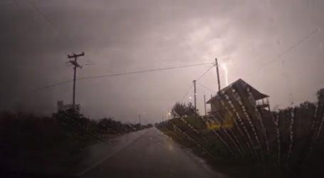 Έκτακτο δελτίο επιδείνωσης καιρού από την Περιφέρεια Θεσσαλίας – Καταιγίδες και βροχές στη Θεσσαλία την Κυριακή