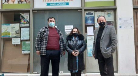 Προσφορά από το Κοινωνικό Παντοπωλείο δήμου Λαρισαίων για τις ανάγκες των Φυλακών Λάρισας