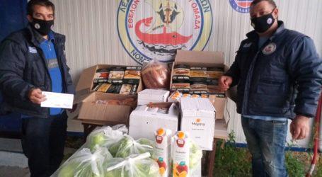 50 γεύματα σε οικογένειες του Νοτίου Πηλίου από τη Λέσχη Ειδικών Δυνάμεων Μαγνησίας