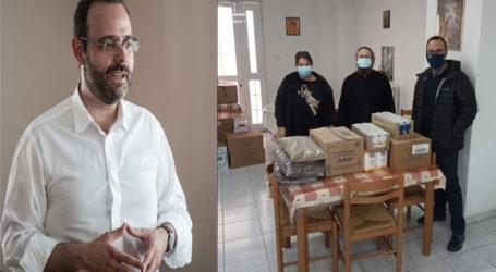 Κων. Μαραβέγιας: Στόχος μας να διασφαλίσουμε ότι όλοι οι συμπολίτες θα καταφέρουν να σταθούν όρθιοι
