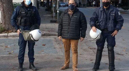 Η Ένωση Αστυνομικών Υπαλλήλων Μαγνησίας ευχαρίστησε τον Μαραβέγια