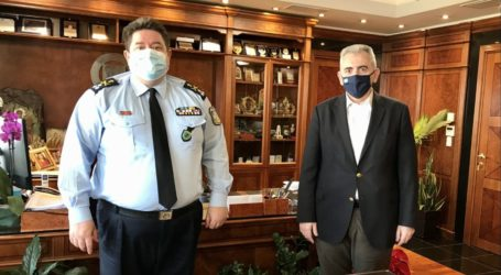Χαρακόπουλος σε αρχηγό ΕΛΑΣ: «Η αστυνομία εγγυητής ενός ''συμβολαίου κοινωνικής ειρήνης''»
