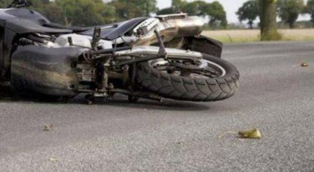 Λάρισα: Τροχαίο με μηχανάκι στον δρόμο Γιάννουλης-Αμπελώνα – Στο ΓΝΛ ο δικυκλιστής