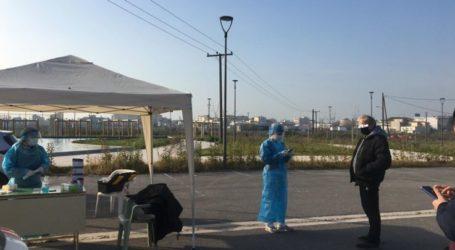 Λάρισα: Rapid tests σήμερα Δευτέρα σε Νέα Σμύρνη, Νίκαια και Αμπελώνα
