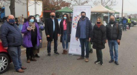 Διανομή τροφίμων σε 212 ωφελούμενους στο Δήμο Κιλελέρ
