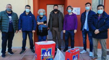 Υγειονομικό και εκπαιδευτικό υλικό προσέφερε η Ένωση Αξιωματικών Ελληνικής Αστυνομίας Θεσσαλίας στο Οικοτροφείο «Ελευθερία» και στο Κέντρο Ημέρας ΧΑΡΑ