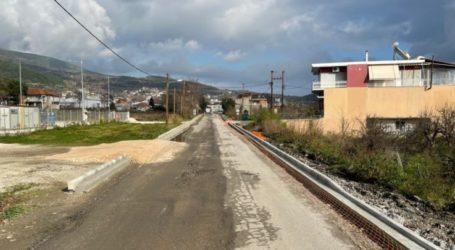 Ξεκίνησαν από την Περιφέρεια Θεσσαλίας οι εργασίες ανακατασκευής της οδού Λαρίσης στην είσοδο της Αγιάς