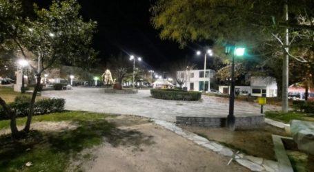 Ξεκίνησαν οι εργασίες τοποθέτησης νέων φωτιστικών Led στο Δήμο Τεμπών