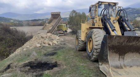 Αποκατάσταση φραγμάτων σε Κρυόβρυση και Κοκκινοπηλό από το Δήμο Ελασσόνας