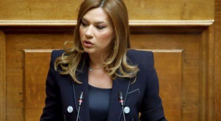 Στέλλα Μπίζιου: Έρχονται νέες αποζημιώσεις για Λαρισαίους καλλιεργητές