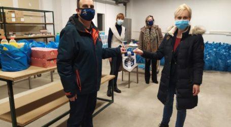 """Τοπική Διοίκηση Λάρισας της Διεθνούς Ένωσης Αστυνομικών: Προσφορά τροφίμων στον φιλανθρωπικό σύλλογο """"Αγάπη"""" του Δήμου Κιλελέρ"""