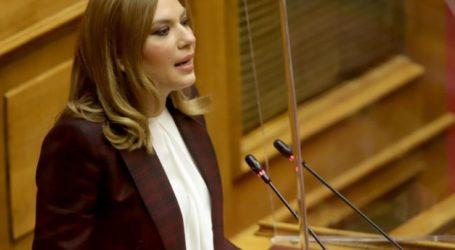 Στέλλα Μπίζιου: Η πολιτεία αναγνωρίζει την προσφορά της Αστυνομίας στην μάχη κατά του κορωνοϊού