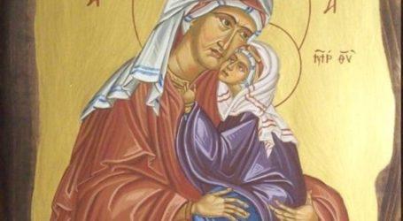 Σήμερα 09 Δεκεμβρίου τιμάται η σύλληψη της Αγίας Άννης