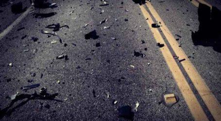Τροχαίο ατύχημα στο Βελεστίνο: Αγροτικό όχημα «καβάλησε» τη διαχωριστική νησίδα!
