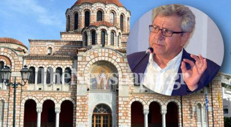 Ευθ. Τσάμης: Δεν πρέπει να ανοίξουν οι εκκλησίες την περίοδο των γιορτών
