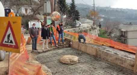 Αργύρης Κοπάνας: Ολοκληρώνεται ο δρόμος Μακρινίτσα-Κουκουράβα [εικόνες]