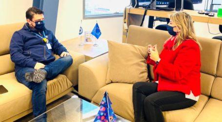 Ν. Χαρδαλιάς σε Ζ. Μακρή: «Εντός του 2021, η δημοπράτηση του νέου πυροσβεστικού μεγάρου»