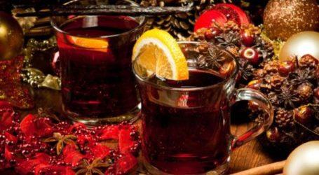 Ζεστό αρωματικό κρασί: Το ποτό των Χριστουγέννων