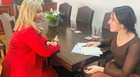 Ζέττα Μακρή: Ανάσα χρηματοδότησης για το Γηροκομείο και το Ορφανοτροφείο Βόλου